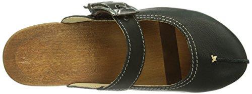 Woody Jaqueline 9651, Chaussures femme Noir