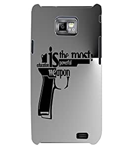 ColourCraft Inspirational Quote Design Back Case Cover for SAMSUNG GALAXY S2 I9100