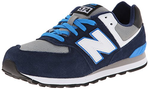 New Balance Classics Traditionnels Navy White Youths Trainers Navy White