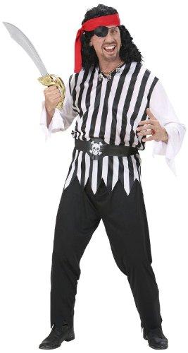 chsenenkostüm Pirat, Coat, Hose, Gürtel und Kopftuch, Größe L (Pirat Kostüm Mann)