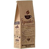 Iguake Coffee 500gr café excelso grano tostado 100% Arábigo de Colombia | Finca familiar - Café de origen - Single.