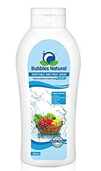 Bubbles Natural Vegetable and Fruit Wash Solution To Wash Away Pesticides - 500ML