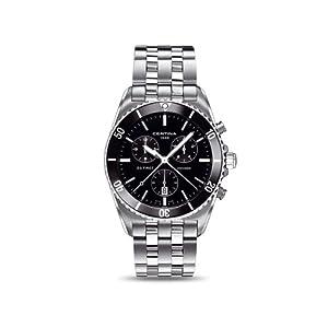Certina C014.417.11.051.00 - Reloj para hombres, correa de acero inoxidable color plateado de Certina