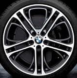 Original BMW Alufelge X3 F25 M Doppelspeiche 310 in 20 Zoll für hinten