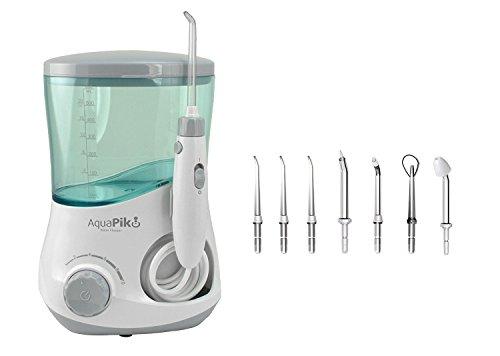 Aquapik 100 - Dental und Nasal Mundduschen einzigartig in der Welt (umfasst 7 Düsen) Empfohlen von Zahnärzten und Ärzten weltweit