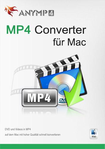 AnyMP4 MP4 Converter für Mac Lifetime License - DVD und Video in MP4 auf Mac umwandeln [Download] (Ipod Dvds Converter)