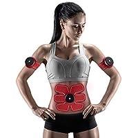 Chuangma Smart Appareil Abdominaux Unisexe Ceinture d'électrostimulation Abdominale pour Sport perdre du poids un ventre plat et des abdos bien dessinés
