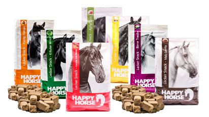 "Happy Horse Lecker Snack sortiert ""Multibox"" 7 x 1 kg = 7 kg"