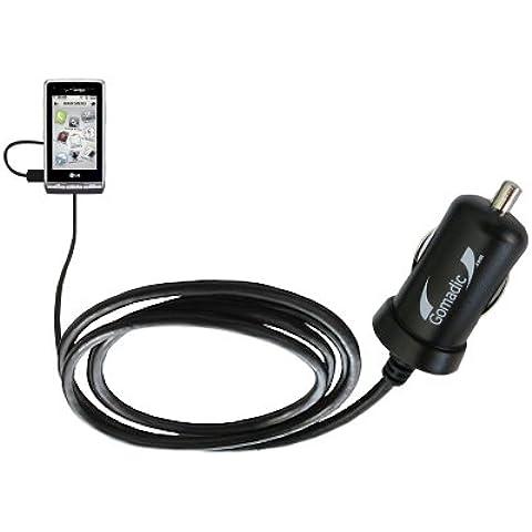2A / 10W Caricabatterie DC per Auto compatibile con LG VX9700 – Adotta la tecnologia TipExchange