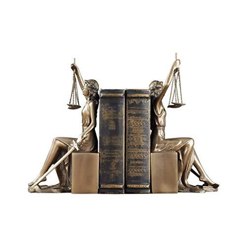 GAOLI La Decoración del Hogar, Creativo Nuevo Hogar, Justicia, Diosa Libro, Libro, De Pie, Abogado,
