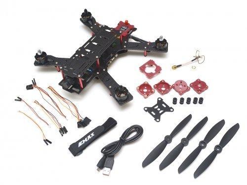 emax-emax-emx-mr-1550-nighthawk-pro-280-size-carbon-fiber-and-glass-fiber-mixed-quadcopter-frame-arf
