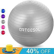 Arteesol Bola de Ejercicio 45cm   55cm   65cm   75cm Bola de Yoga Auti Burst 7b879755d657