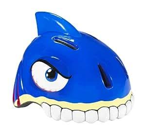 Crazy.Stuff Kids Shark Bicycle Helmet - Blue