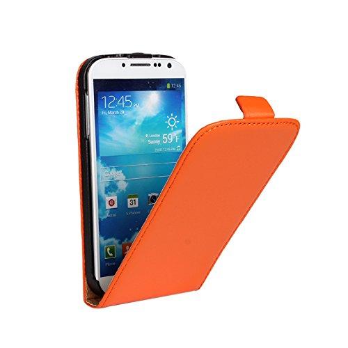 EximMobile Flipcase Handytasche Etui für LG G3 s Orange