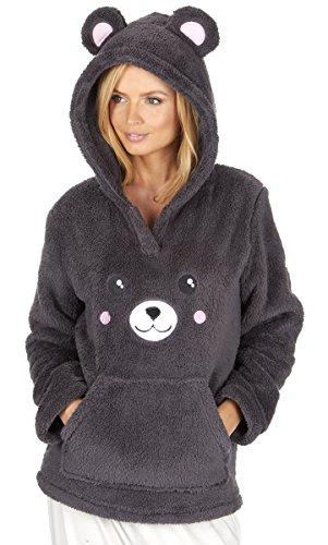 ladies-novelty-snuggle-fleece-bear-themed-hoodie