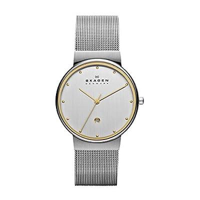 Skagen 355LGSC - Reloj de caballero de cuarzo, correa de acero inoxidable color plata de SKAHH
