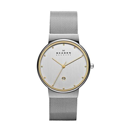41zwvnR2vBL. SS510  - Skagen 355LGSC Silver Mens watch