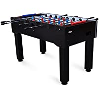 Gamesson Unisex Madrid Football Table, Black, 4.6-inch