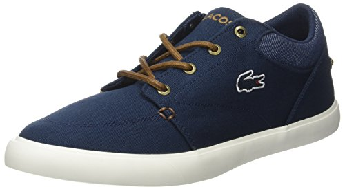 Lacoste Bayliss Vulc 317 2, Baskets Basses Homme Bleu (Nvy/Brw)