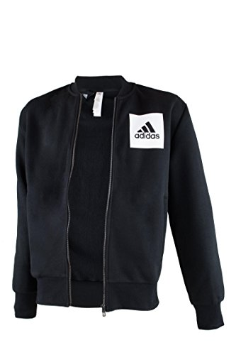 adidas Herren Essential Bomber Trainingsjacke Jacke, Schwarz, 2XL