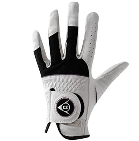 Dunlop Tour Pro 2012 Women's Golf Glove Left Hand for Right-Handed Players White white Size:L - Dunlop Golf Irons