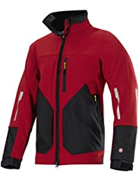 Snickers 88881604007 Windstopper Veste Soft Shell Taille XL Rouge Chili