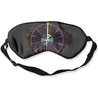 Sleep Eye Mask Circle Abstract Radar Lightweight Soft Blindfold Adjustable Head Strap Eyeshade Travel Eyepatch preisvergleich bei billige-tabletten.eu