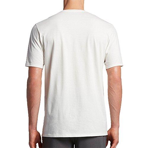 Hurley Herren T-Shirt Weiß