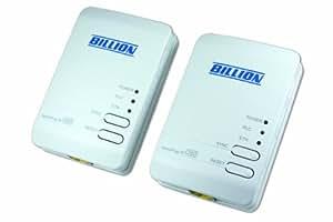 Billion P106 HomePlug AV 200 Ethernet Adapter Starter Kit (Includes 2 x BiPAC 2073 R2)