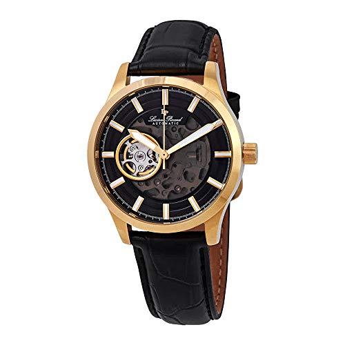 Lucien Piccard Sevilla II Automatic Black Dial Men's Watch LP-28016A-YG-01-GA