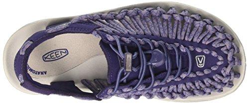 Keen Uneek W, Sandali da Escursionismo Donna Viola (Crown Blue/Purple Sage)