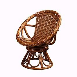 Chaises longues De Maison Chaise Pivotante De Balcon Chaise De Rotin De Maison Chaise Confortable dans Le Salon Table Et…