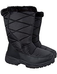 Mountain Warehouse Botas de Nieve con peluche para Mujeres Ice