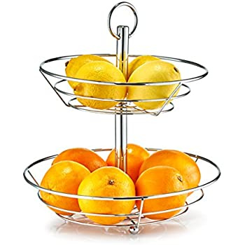 Corbeille fruits babell design tag re koziol blanc cuisine maison - Corbeille a fruits 3 etages ...