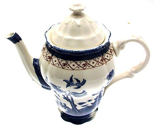 Royal Doulton Messestände Echt Old Willow Kaffeekanne