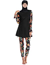 ae5a38bf25082 Seafanny Islamic Swimming Hijab Swimwear Modest Swimwear Full Length Active Burkini  Muslim Swimsuit