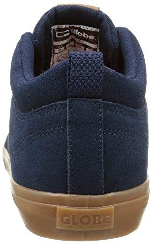 Globe GS Chukka Unisex-Erwachsene Sneakers Blau (Navy/Gum)