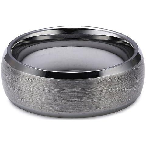 Core TW010.01.50 - Anillo unisex de tungsteno