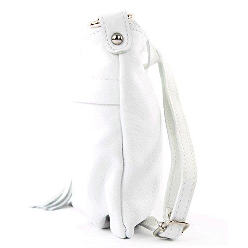 Made Italy , Sac bandoulière pour femme Blanc - Blanc