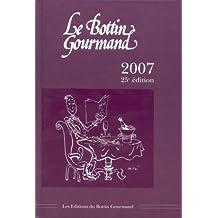 Le Bottin Gourmand 2007