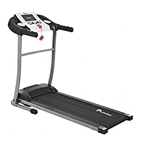 Powermax Fitness TDM-98 1.5HP, Light Weight, Foldable Motorized Treadmill for Cardio Workout at Home