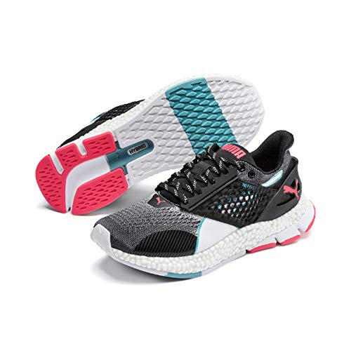 PUMA Hybrid Astro Wns, Zapatillas de Running para Mujer, Black-Pink Alert, 37.5 EU