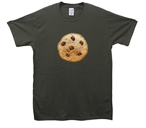 Cookie Emoji T-Shirt Khaki