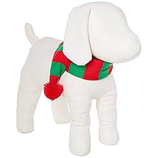 Stripe Pet Weihnachts Kostüm Zubehör Knit Weihnachten Schal für Pet