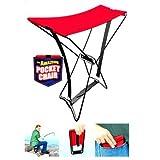 Insasta Pocket Chair Heavy Duty Foldable Chair