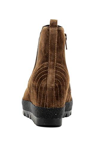 Gabor Damenschuhe 52.671.35 Damen Schnürstiefel, Schnürboots, Boots, Sneaker Braun castagno (Micro)