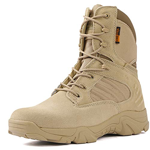 Military Patrol Boots Men Outdoor Kampf Armee Stiefel Klettern Off Road Schuhe Wandern Trainingsprogramm Wüste Schuhe,Sand,43