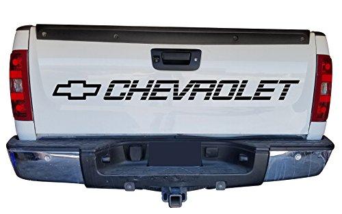 Chevrolet Heckklappe Bett Aufkleber sidebed Aufkleber Silverado SS 1500350454Schriftzug Vinyl Grafiken (Craft-schriftzug)