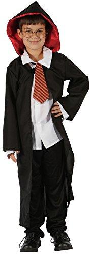 Kostüm Sorcier (P 'tit Clown–98550–Kostüm Kinder Luxe SORCIER–Größe)