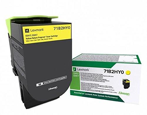 Preisvergleich Produktbild Lexmark 71B2HY0 Original Toner 1er Pack
